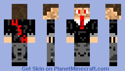 Corrupt Politician Minecraft Skin