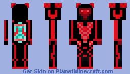 Corrupted Defalt Minecraft Skin