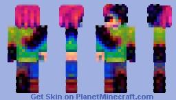 Corruption Minecraft Skin