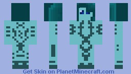 Halo 4 Cortana Minecraft Skin