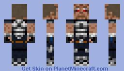 Sergeant Cortez (Timesplitters) Minecraft Skin