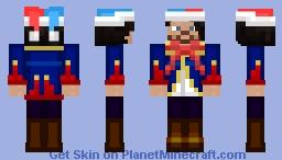 Jester Cosmic Minecraft Skin
