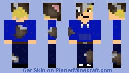 Cow Man Minecraft Skin