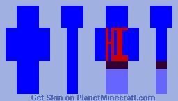 Hi!!!! Minecraft Skin