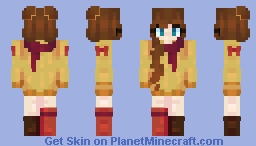 cozy sweaters and turkey feathers Minecraft Skin