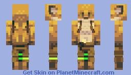 Crash landing Minecraft Skin
