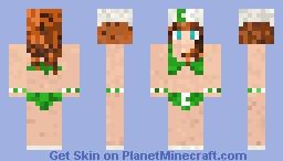 CreativeCraft Beach Babe Minecraft Skin