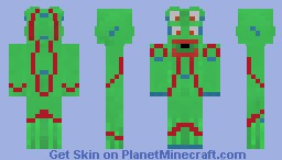 Cronjo - Closet monster (Contest) Minecraft Skin