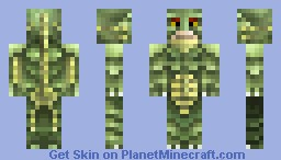 Creature from the Black Lagoon Minecraft Skin
