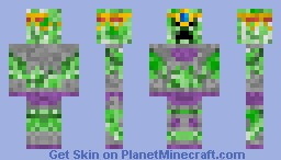 Creeper Emperor Minecraft Skin