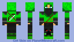 Creeper hunter Minecraft Skin