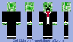 Creeper with a tux