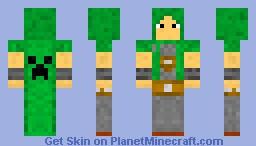 Creeper Skillcape Minecraft Skin
