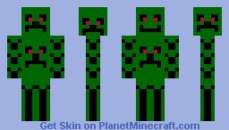 Creeper skins Minecraft Skin