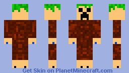 PalmTree-Creep Minecraft Skin