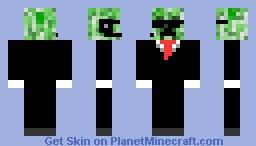 Spy Creeper Skin Minecraft Skin