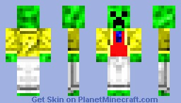 Creeper In Colorful Suit