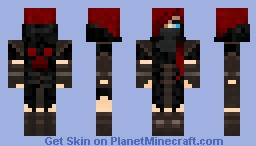 Creeper Assassin (Hood down) Minecraft Skin