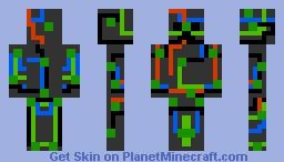 CreeperBoard Minecraft Skin