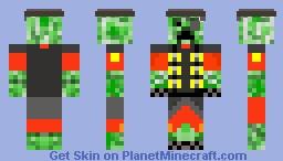 Creeper Demoman Minecraft Skin