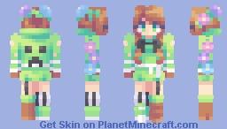 creepergirl ˙n˙ (rce) Minecraft Skin