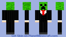 Creeper in suit