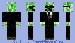 Creeper in a suit