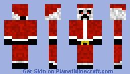 Creeper.Santa Minecraft Skin