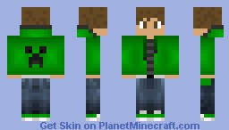 | Creeper guy| Shade Series Minecraft Skin