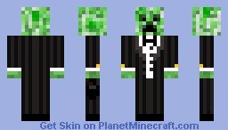 Creeper In A Tux