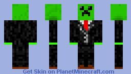 Creeper Suit Minecraft Skin