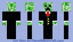 Clean Tuxedo Creeper