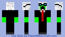 Creepy Aero Pilot (greifer skin) Minecraft Skin