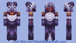 Queen of Arachnids - Creepy - Skintober - Day 8 Minecraft Skin