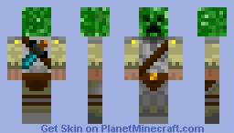 creepy knight Minecraft Skin