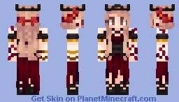 crimson queen Minecraft Skin
