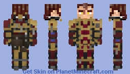 Crimson Stones Chapter Maxima Minecraft Skin