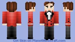 Crimson Suit Gentleman