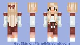 crimson gal Minecraft Skin