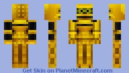 Crow T. Robot Minecraft Skin
