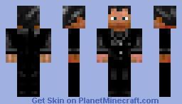 Crowley (SuperNatural) Minecraft Skin