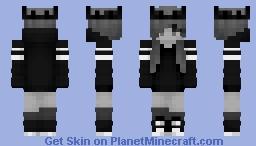    Grayscaled Crown    Minecraft Skin