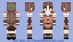 [Kantai Collection] Jintsu! Minecraft Skin