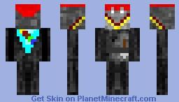 My attempt at a crusader Minecraft Skin