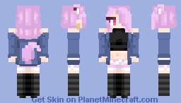 Request ~ Crydiaa 🎧 Minecraft Skin