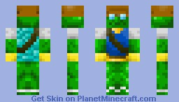 A Crying Frog Explorer. by DanielTheTank Minecraft Skin
