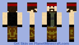 CS Guerrilha Minecraft Skin