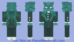 Cthulhu but its an anime boi Minecraft Skin