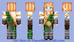 Legendary Celtic Hero -  Cu Chulainn Minecraft Skin