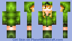 Cupa the Creeper (Mob Talker Mod/AT2) Minecraft Skin